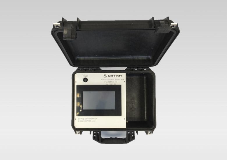 SAFRAN - Valise de mesure vibratoire sur ventilateurs avions