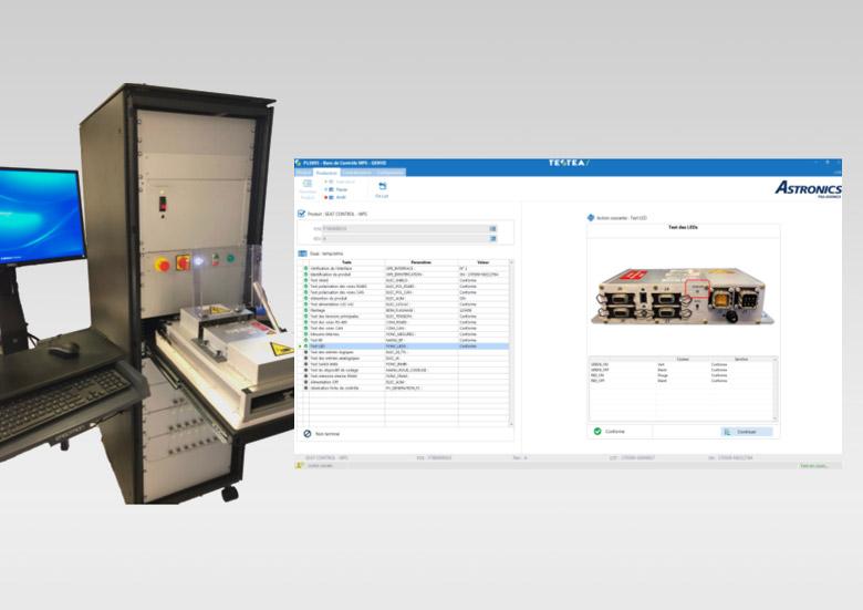 ASTRONICS PGA - Banc de test fonctionnel pour calculateurs aéronautiques