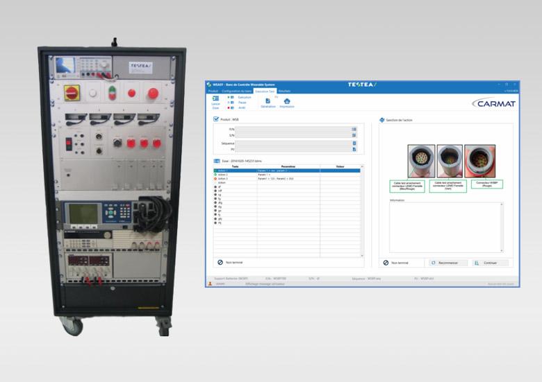 CARMAT - Banc de test d'équipement pour cœur artificiel
